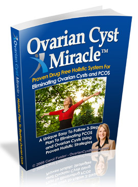 buy ovarian cyst miracle book carol